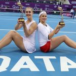 Dabrowski and Ostapenko Claim Doubles Crown