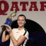 Kvitova Rally Past Muguruza to Clinch Qatar Total Open 2018 Title