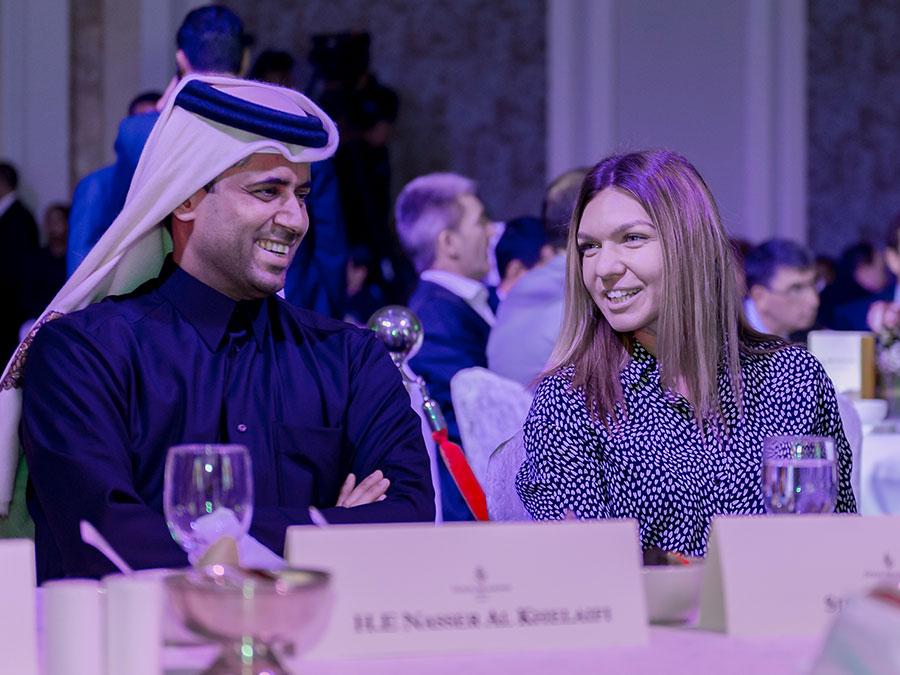 Stars enjoy warm hospitality at Qatar Total Open 2018 Gala Dinner