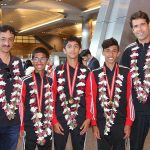 Qatar Junior Tennis team return to a warm welcome