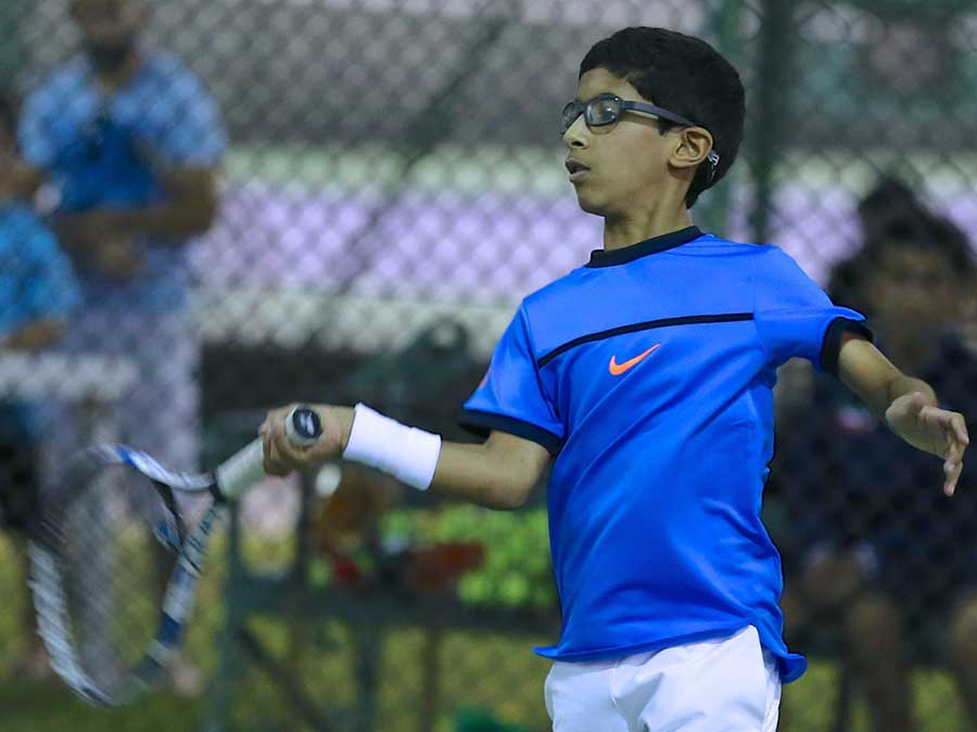 Alyafei and Nawaf qualify to quarterfinals of Qatar Asian Junior Tournament