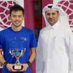 Wang wins Qatar F5 Futures