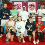 First Qatar Junior ITF World Tennis Tour concluded this Saturday