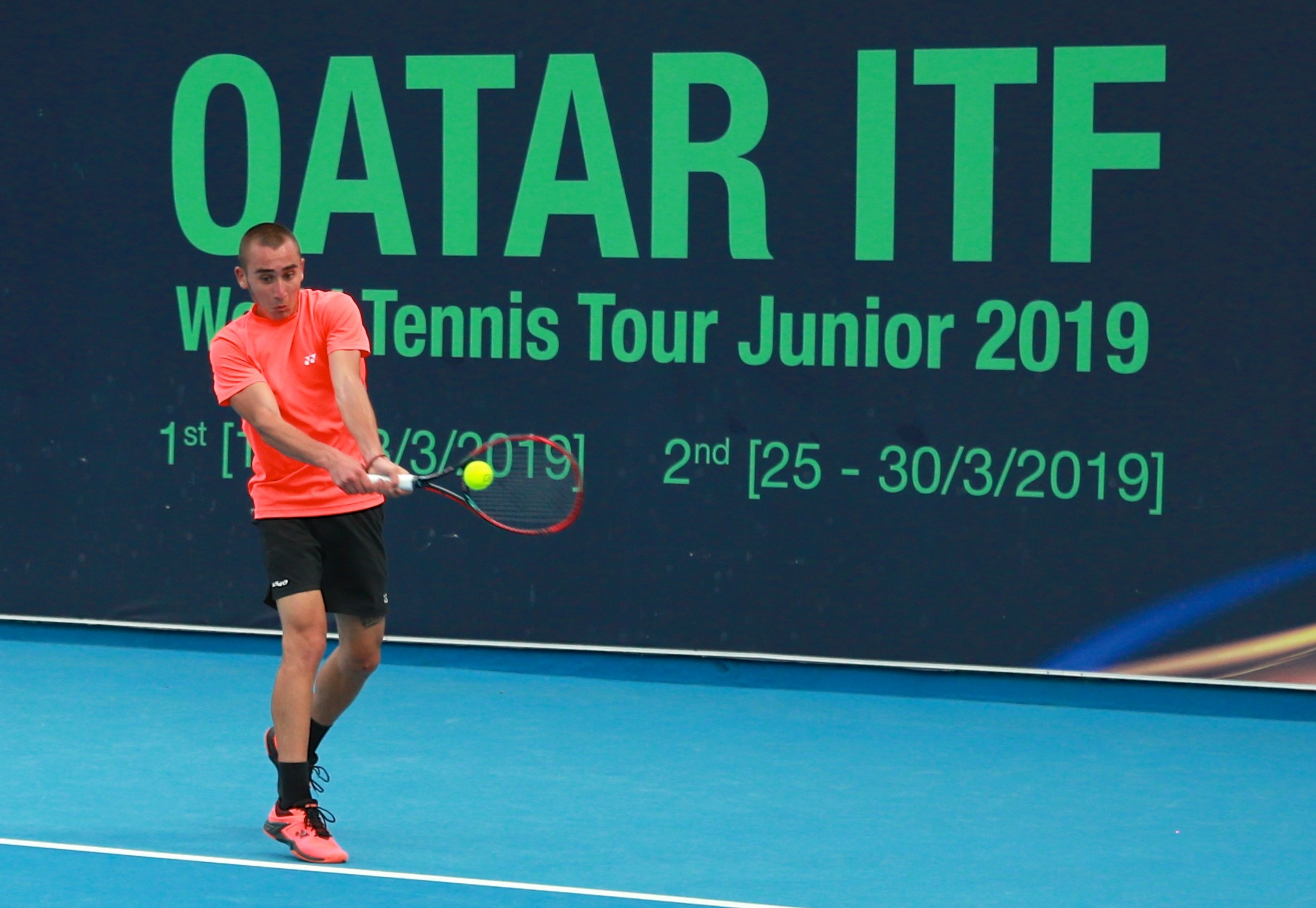 2ndQatar Junior ITF World Tennis Tour to begin on Monday