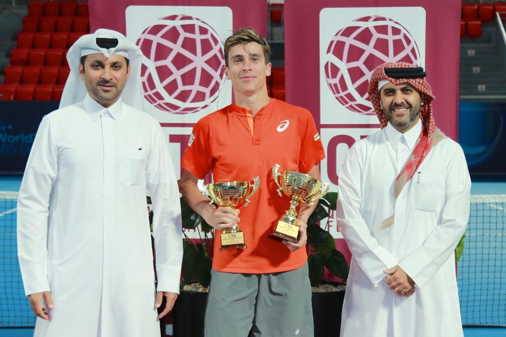 1st Qatar Men's ITF World Tennis Tour Concludes