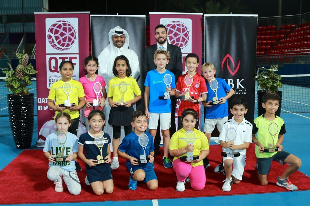 QTSBF honors winners of NBK Ramadan Tennis Tournament