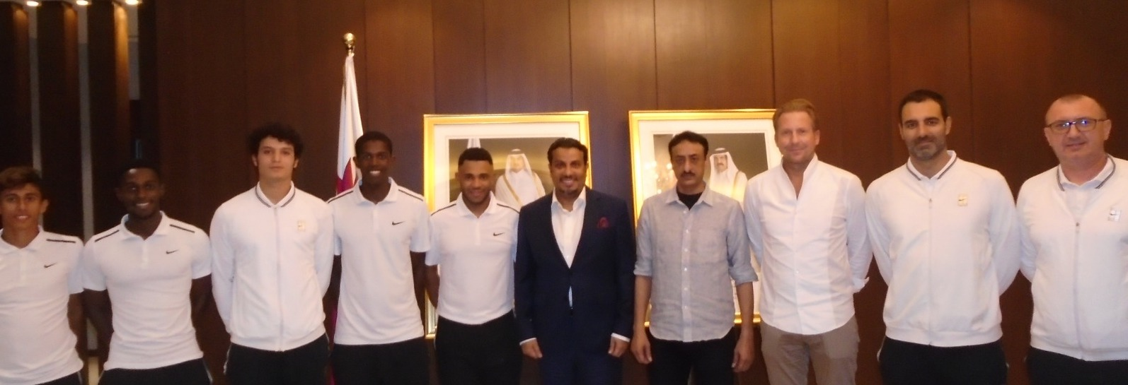 Qatar's Ambassador To Singapore Supports Our National Tennis Team