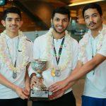 Qatar Squash Team win three medal in West Asian Men's Tournament