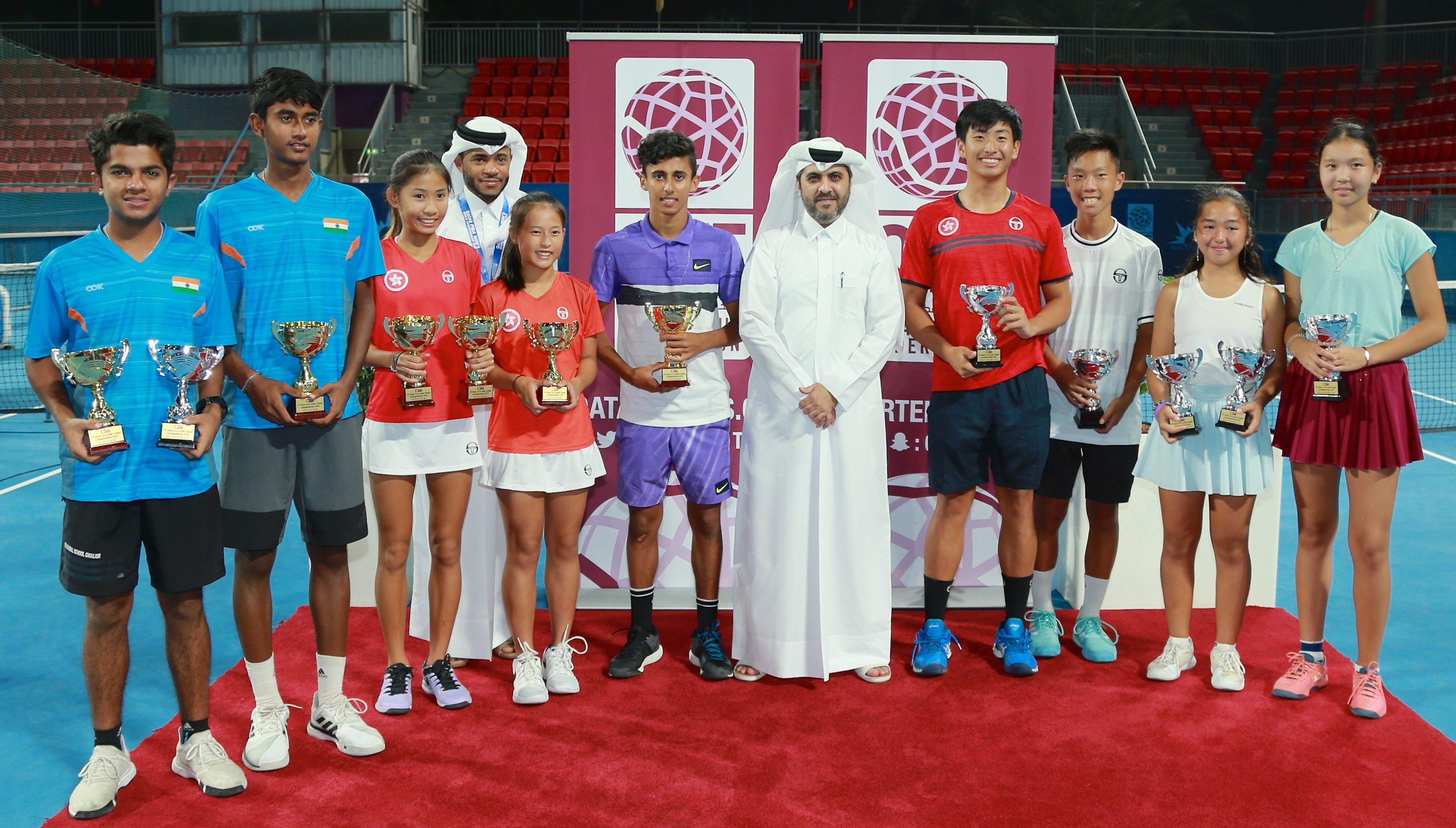 Rashed Nawaf wins ITF Asia 14 & Under Closed Championships