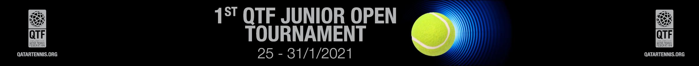 بطولة الاتحاد القطري للتنس المفتوحة للناشئين ٢٠٢١