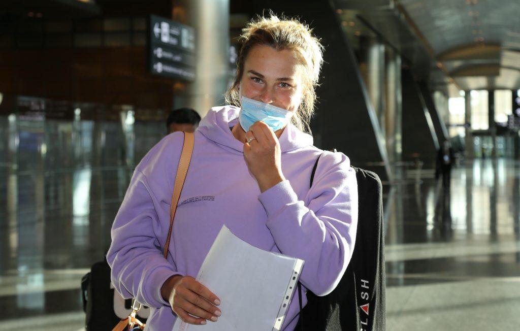Defending Champion Sabalenka Arrives for Qatar Total Open
